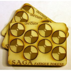 Mdf Fatigue Markers - Round...