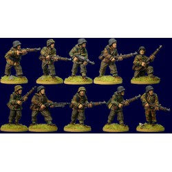 German Infantry Section...