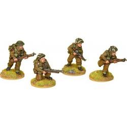 British Commando Bren Teams