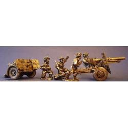 British 25-pdr Field Gun...
