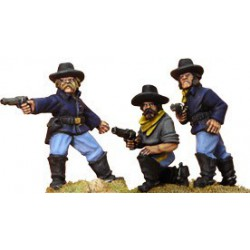 7th Cavalry With Pistols...