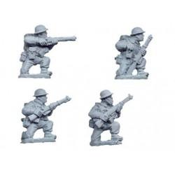 British Riflemen Kneeling (4)