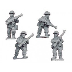 Late British Riflemen I (4)