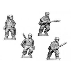 German Paratroopers Lmg Teams