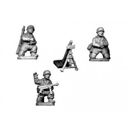 German Paratroopers 8cm Mortar