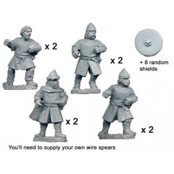 Unarmoured Spanish Spearmen...