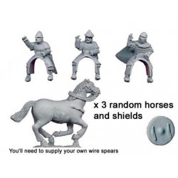 Spanish Knights With Thrown...