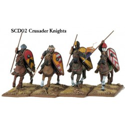 Mounted Crusader Knights...