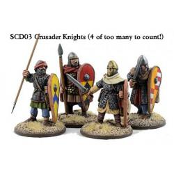Crusader Knights on Foot...