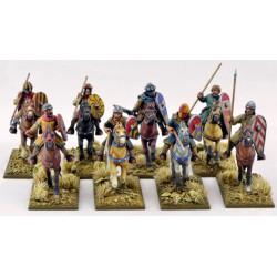 Mounted Crusader Sergeants...