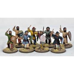 Saracen Warriors on Foot
