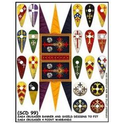 Christian Banner & Shield...