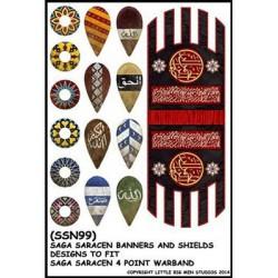 Muslim Banner & Shield...