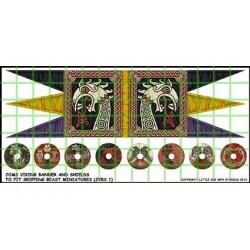 Jomsviking Banner & Shield...