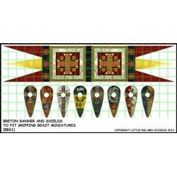 Breton Banner & Shield...