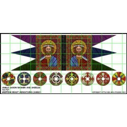 Anglo Saxon Banner & Shield...