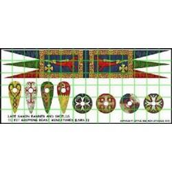 Anglo Dane Banner & Shield...