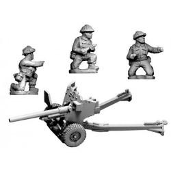 Late War British 6-pdr. Gun...