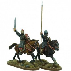 Mounted Norman Warlord and...