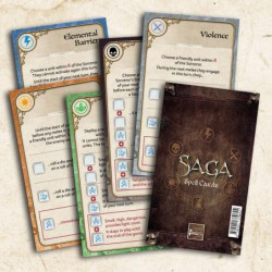 Saga Spell Cards (Spanish)