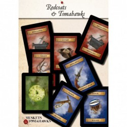 Cartas Redcoats & Tomahawks...