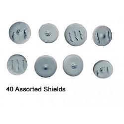 Spanish Round Shields (+-40)