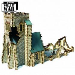 Damaged Parish Church 28mm